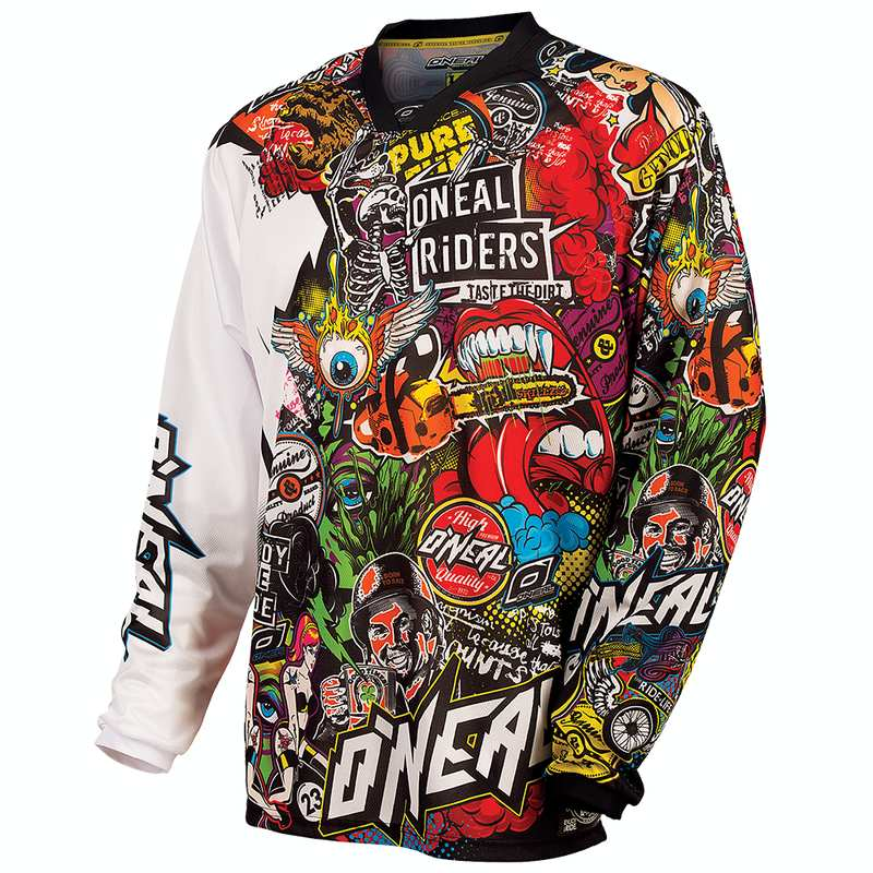 Oneal MAYHEM LITE Jersey CRANK black/multi XL