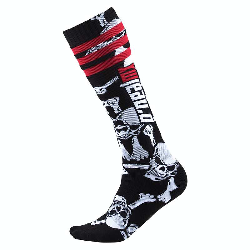 Oneal Pro MX Sock Crossbones black/white (One Size)