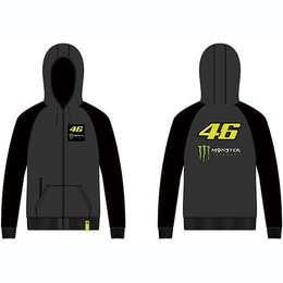 VR46 Hoodie (MOMFL316920) Monster Dual Grey XL